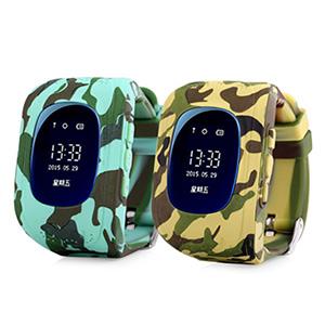 Smart Baby Watch Q50 в камуфляжном корпусе