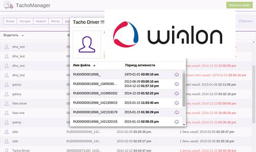 Тахографы используют программное обеспечение Wialon